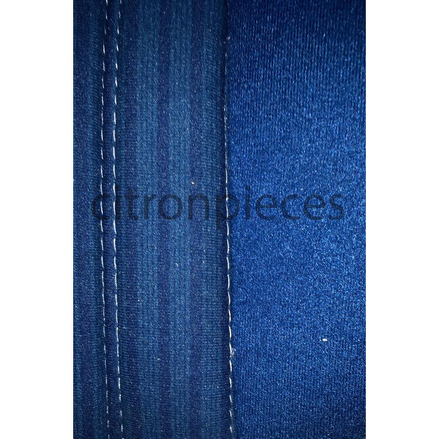 Voorstoelhoes blauw stof Pallas 70-73 Citroën ID/DS-3