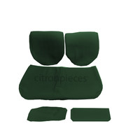 Rear bench coveruperpecial green cloth Citroën ID/DS