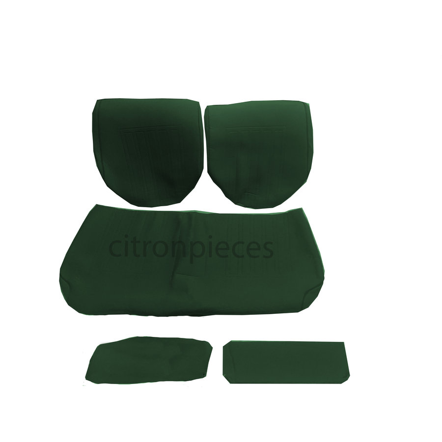 Rear bench coveruperpecial green cloth Citroën ID/DS-1