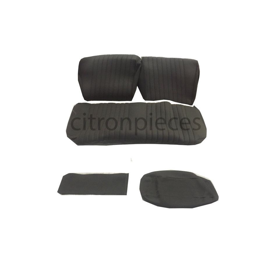 Rear bench cover pallas from 69 gray cloth Citroën ID/DS-1