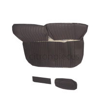 thumb-Sitzbezugsatz für Hinterbank Stoff-bezogen grau (1 Farbton): Sitz 1 Teil Rückenlehne 4 Teile Citroën ID/DS-2