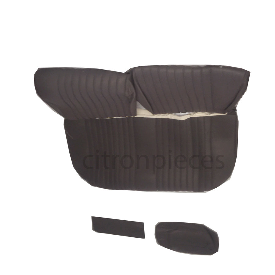 Rear bench cover pallas from 69 gray cloth Citroën ID/DS-2