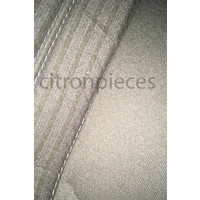 thumb-Garniture pour banquette AR en étoffe gris unie pour assise 1 pièce dossier 4 pièces Citroën ID/DS-3