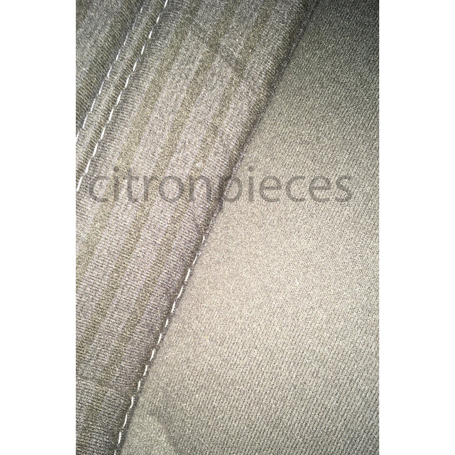 Rear bench cover pallas from 69 gray cloth Citroën ID/DS-3