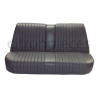 thumb-Rear bench newly trimmed in black leatherette Citroën ID/DS-1