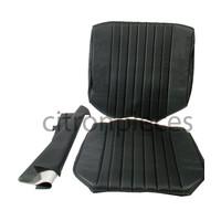 thumb-Original Sitzbezug Satz für Vordersitz Targa-bezogen schwarz (Sitz Rückenlehne Abschlussfüllung für Schaum-Rücken) Citroën ID/DS-1