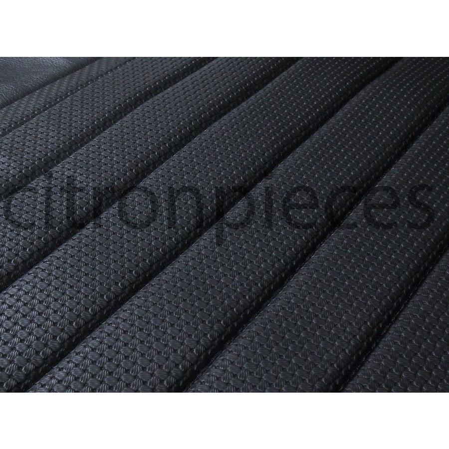 Original Sitzbezug Satz für Vordersitz Targa-bezogen schwarz (Sitz Rückenlehne Abschlussfüllung für Schaum-Rücken) Citroën ID/DS-2
