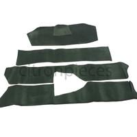 thumb-Vollständiger Bodenbezug Satz grün (mechanisch/hydraulisch/mit Einspritzung) mit Schaum Citroën ID/DS-2