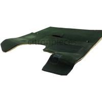 thumb-Vollständiger Bodenbezug Satz grün (mechanisch/hydraulisch/mit Einspritzung) mit Schaum Citroën ID/DS-1