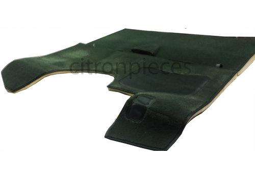 ID/DS Jeu complet de tapis pour PA vert (méchanique/hydrolique/injection) AV avec mousse alveolée Citroën ID/DS