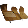 ID/DS Front carpet brown without foam Citroën ID/DS