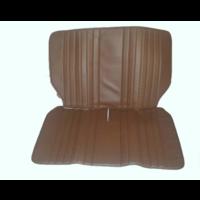 thumb-Housse d'origine pour banquette AR repliable en simili marron pour Dyane Citroën 2CV - Copy-2