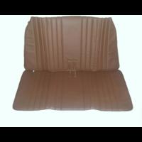 thumb-Housse d'origine pour banquette AR repliable en simili marron pour Dyane Citroën 2CV - Copy-3