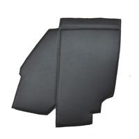thumb-Bekleding schutbord, gelijkend materiaal, verbeterde pasvorm voor Citroen 2CV zwart  (6 delige set)  1976- eind-4