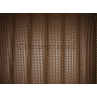 thumb-Original seat cover set for rear bench in brown leatherette DYANE Citroën 2CV-3
