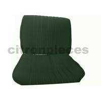 thumb-Sitzbezugsatz für Vordersitz Stoff-bezogen grün (1 Farbton): Sitz + Rückenlehne + Abschlussfüllung in weißemTarga Citroën ID/DS-1