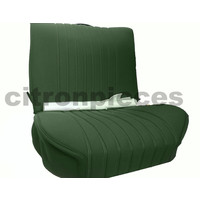 thumb-Front seat cover pallas from 69 green cloth Citroën ID/DS-2