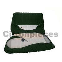 thumb-Garniture siège AV en étoffe vert unie pour assise + dossier Panneau de fermeture en simili blanchâtre Citroën ID/DS-3