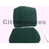 thumb-Voorstoelhoes groen stof Pallas 70-73 Citroën ID/DS-1