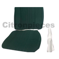 thumb-Front seat cover pallas 70-73 green cloth Citroën ID/DS-2