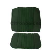 thumb-Rear bench cover pallas 70-73 green cloth Citroën ID/DS-1