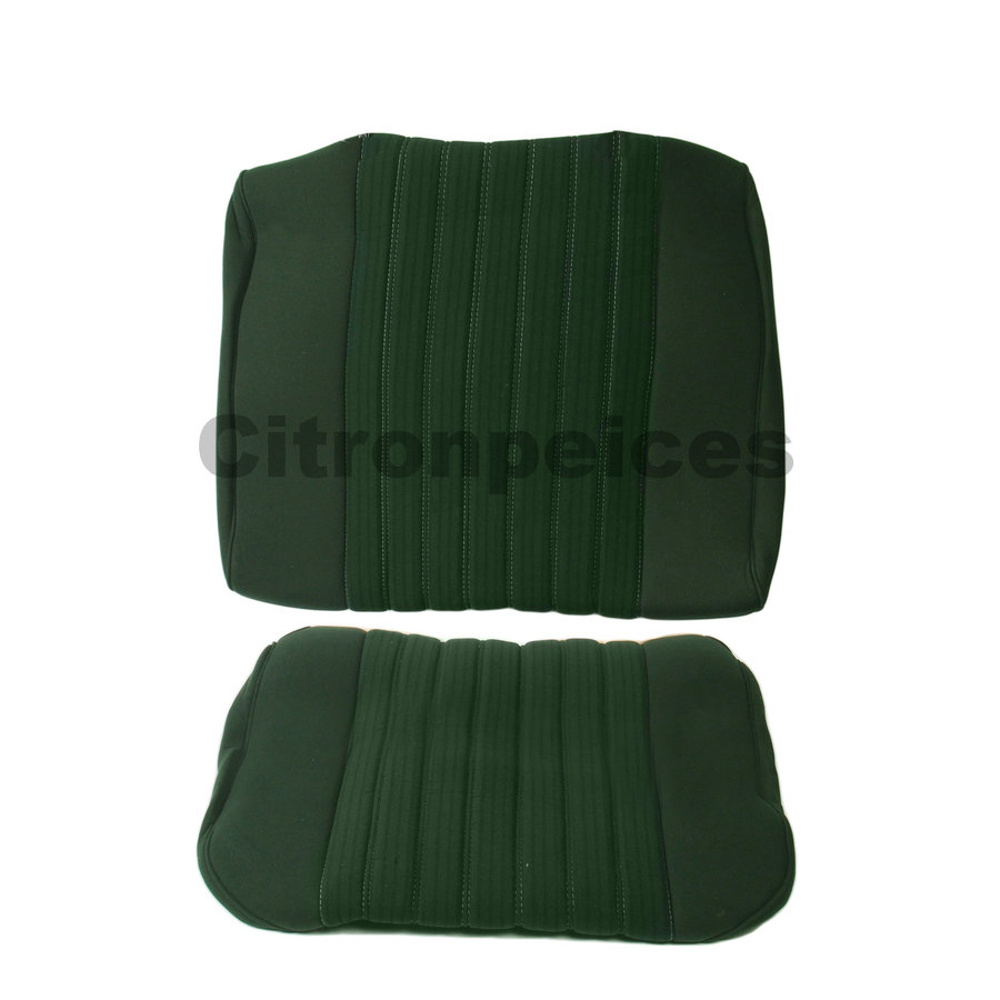 Rear bench cover pallas 70-73 green cloth Citroën ID/DS-1