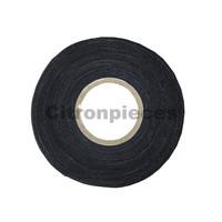 Klebeband Leinen schwarz für elektrische Kabelbündel [25M]TapeMaterial