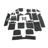 thumb-Complete set of carpet mat pieces grey [22] Citroën SM - Copy-1