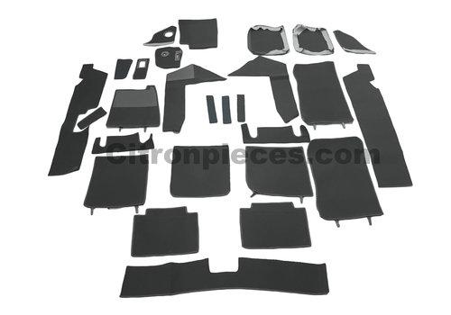 SM Complete vloermatset donker grijs [22] Citroën SM
