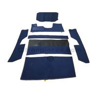 thumb-Jeu complet de tapis bleu pour PA (méchanique/hydrolique/injection) Citroën ID/DS-1
