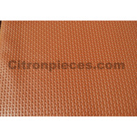 thumb-Original seat cover set for front seat in brown leatherette years '50 '60 Citroën 2CV-4