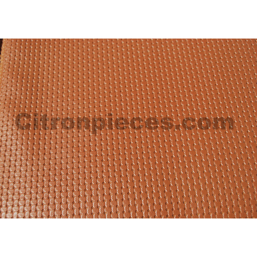 Original seat cover set for front seat in brown leatherette years '50 '60 Citroën 2CV-4