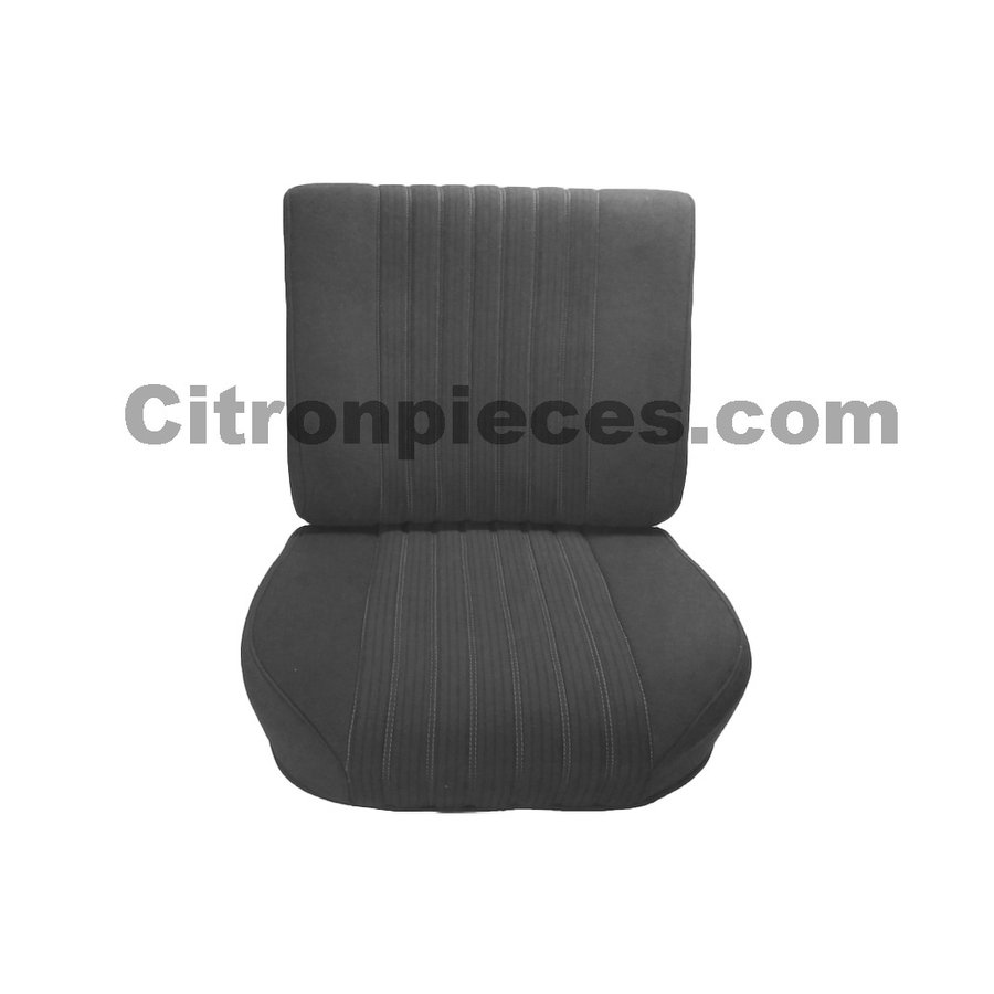 Front seat half mounted pallas 70-73 gray cloth Citroën ID/DS-1