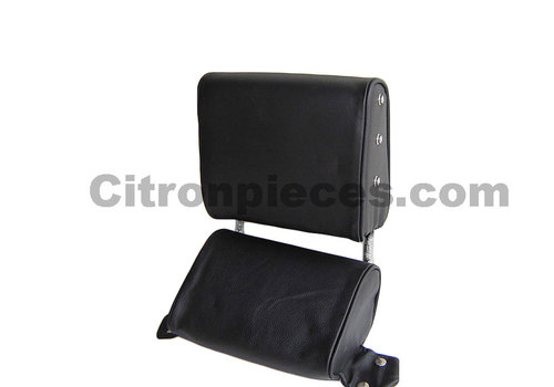 ID/DS Head rest with black leather trimming narrow model 2 pieces Citroën ID/DS