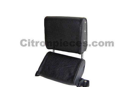 ID/DS Repose-tête (2 pièces modèle étroit) garniture cuir noir Citroën ID/DS