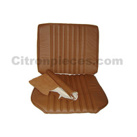 thumb-Front seat cover light brown leather Citroën ID/DS-1