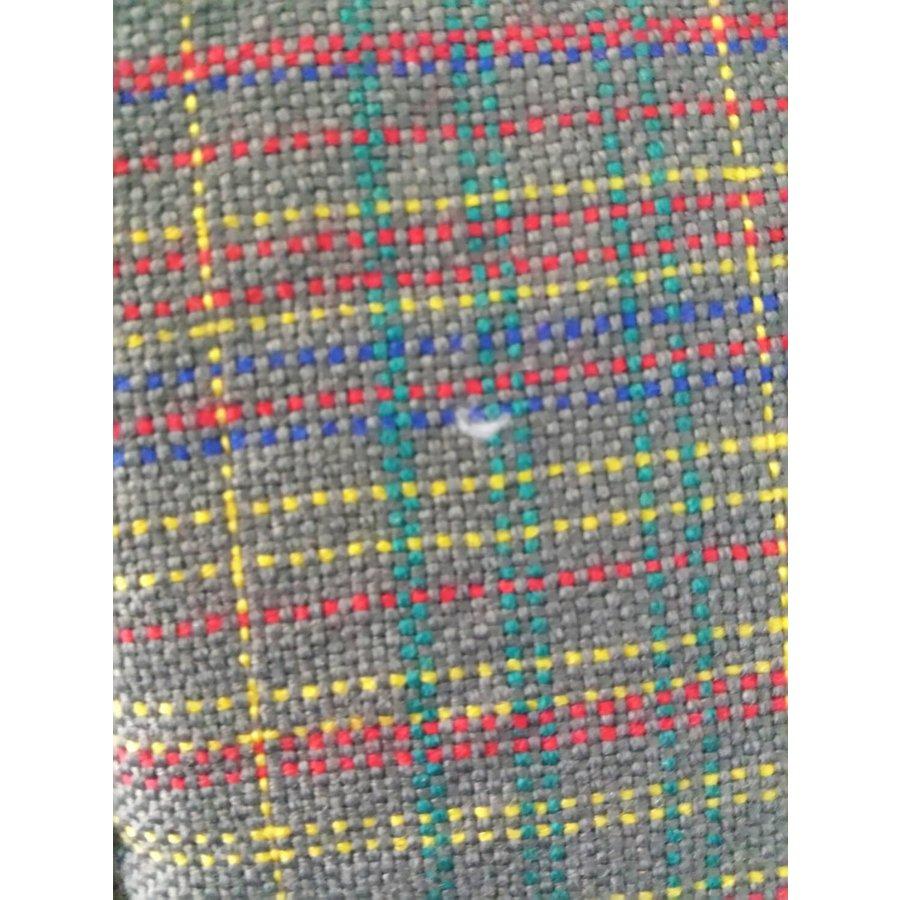 Original-Sitzbezug Satz: 2 Vordersitze + 1Hintersitzbank Set van 2 voorstoelhoezen (2 ronden kanten) en 1 achterbank ECOSSAIS Stoff-2