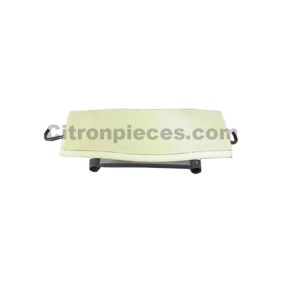 Einbaurahmen für Kopfstützen Sitzbank [1] Dyane/Ami6 Nur für 1 Kopfstütz ! Breite 47 cm Citroën 2CV-1