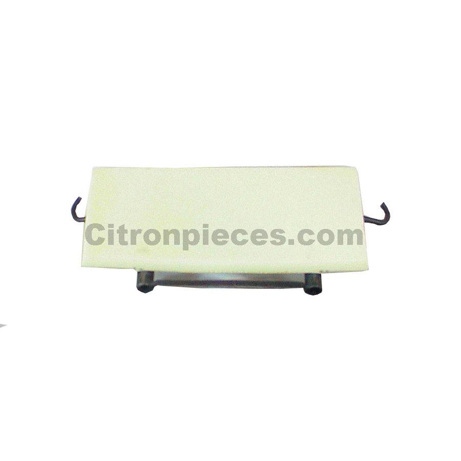 Einbaurahmen für Kopfstütze Vordersitz Dyane/Ami6 Nur für ein Kopfstütze! Breite 43 cm Citroën 2CV-1