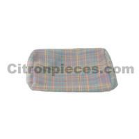 Bezug für Kopfstütze (Deutsche Version) Stoff grau/multicolor letzter Typ Citroën 2CV