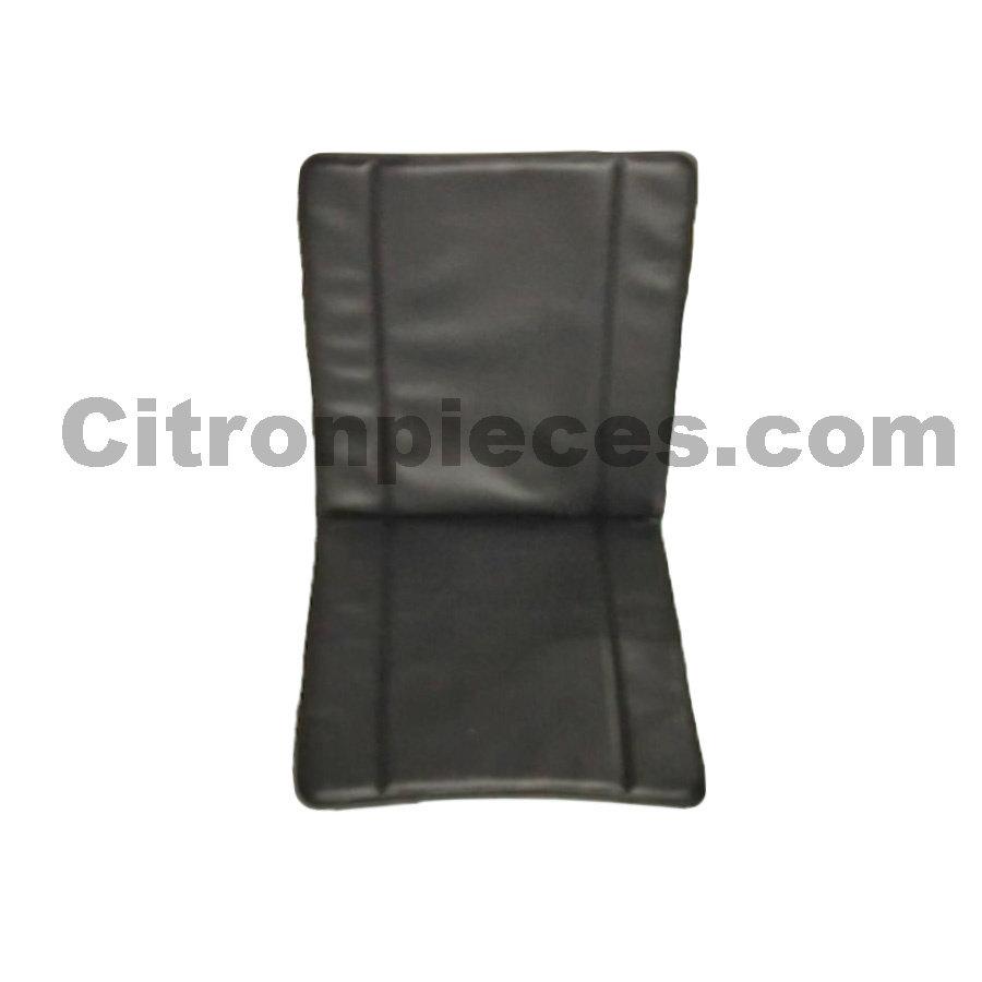 Hoes in extra stevig zwart skai voor besteleend oude type Citroën 2CV-1