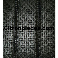thumb-Original seat cover set for front bench with closed sides in black leatherette Dyane Citroën 2CV-2