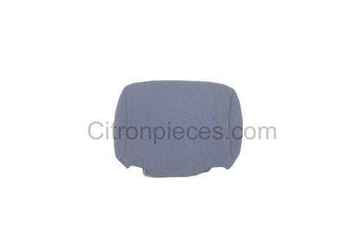 2CV Bezug für Kopfstütze (Deutsche Version) Stoff grau Charleston Citroën 2CV