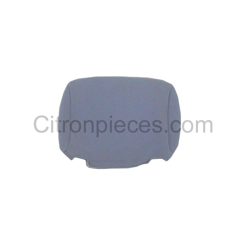 Head rest cover (for German version) gray cloth Charleston Citroën 2CV-1