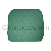 thumb-Original seat cover set for front L seat (2 round angles) in green cloth Charleston Citroën 2CV-4