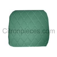 thumb-Original Sitzbezug Vordersitz links (Rückenlehne mit 2 abgerundeten Ecken) grün Stoff Charleston Citroën 2CV-4