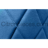 thumb-Original-Sitzbezug Satz: 2 Vordersitze + 1Hintersitzbank blau Stoff Charleston Citroën 2CV - Copy-2