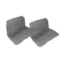 thumb-Sitzbankbezug 2CV, für 1 Sitzbank vorne + 1 Sitzbank hinten. Targa (Jeans/ Denim). Die Seitenteile sind offen-1