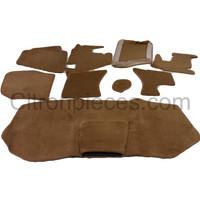 thumb-Full carpet set including foam brown Citroën ID/DS-2