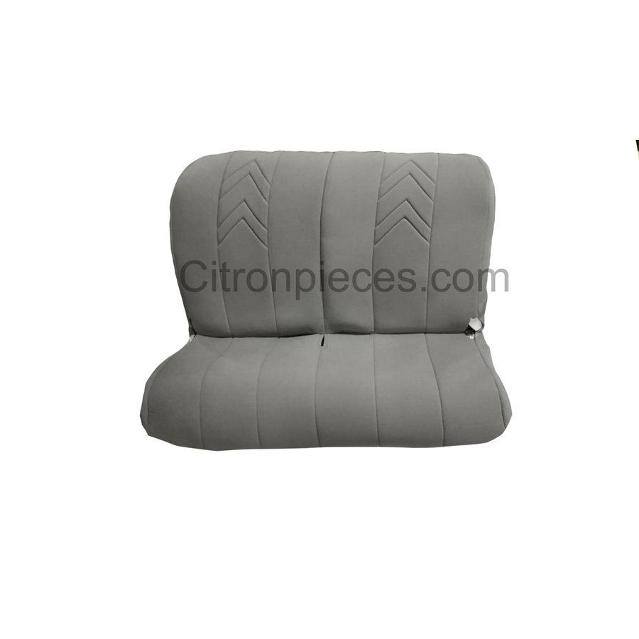 Achterbankhoes grijs stof met chevron motief Citroën 2CV-1